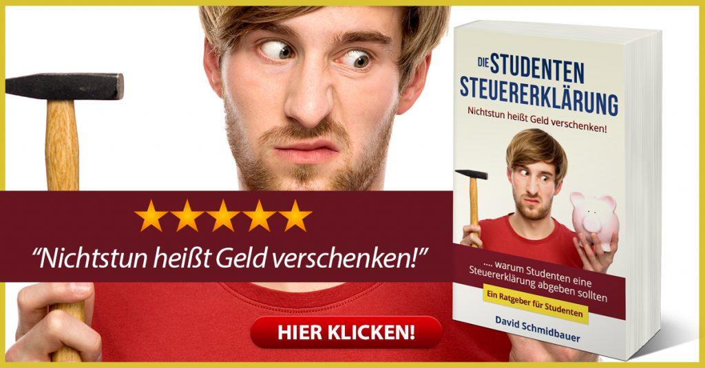 """David Schmidbauer - Die """"Studenten- Steuererklärung"""""""